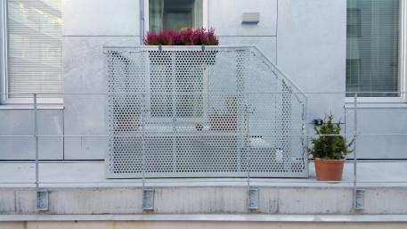 Steel railings Tappen