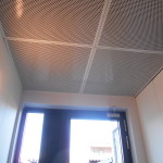 Perforated ceilings