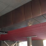 Wire mesh metal ceiling